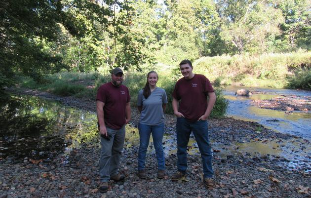 Students Go Into the Woods to Improve Forest Health