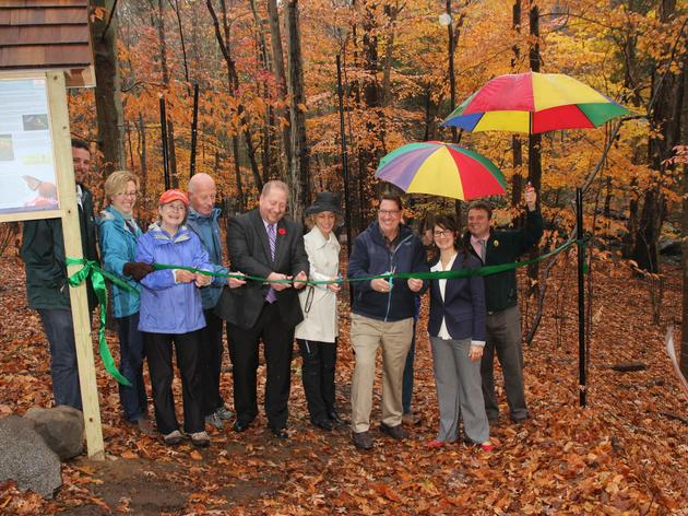New Urban Oasis Habitat Dedicated in Stamford Park