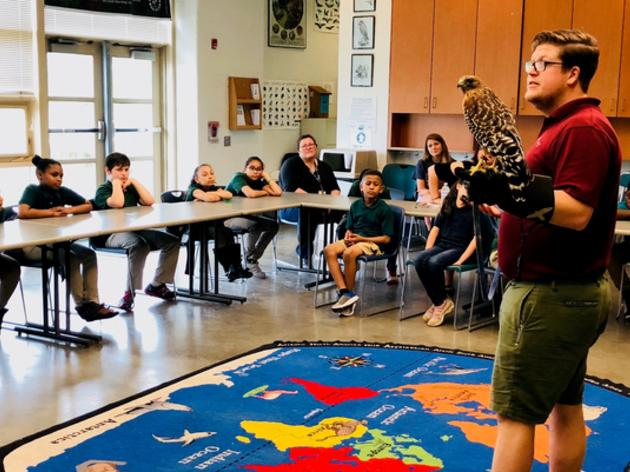 Connecticut Osprey Help Area Schoolchildren Learn About Long Island Sound