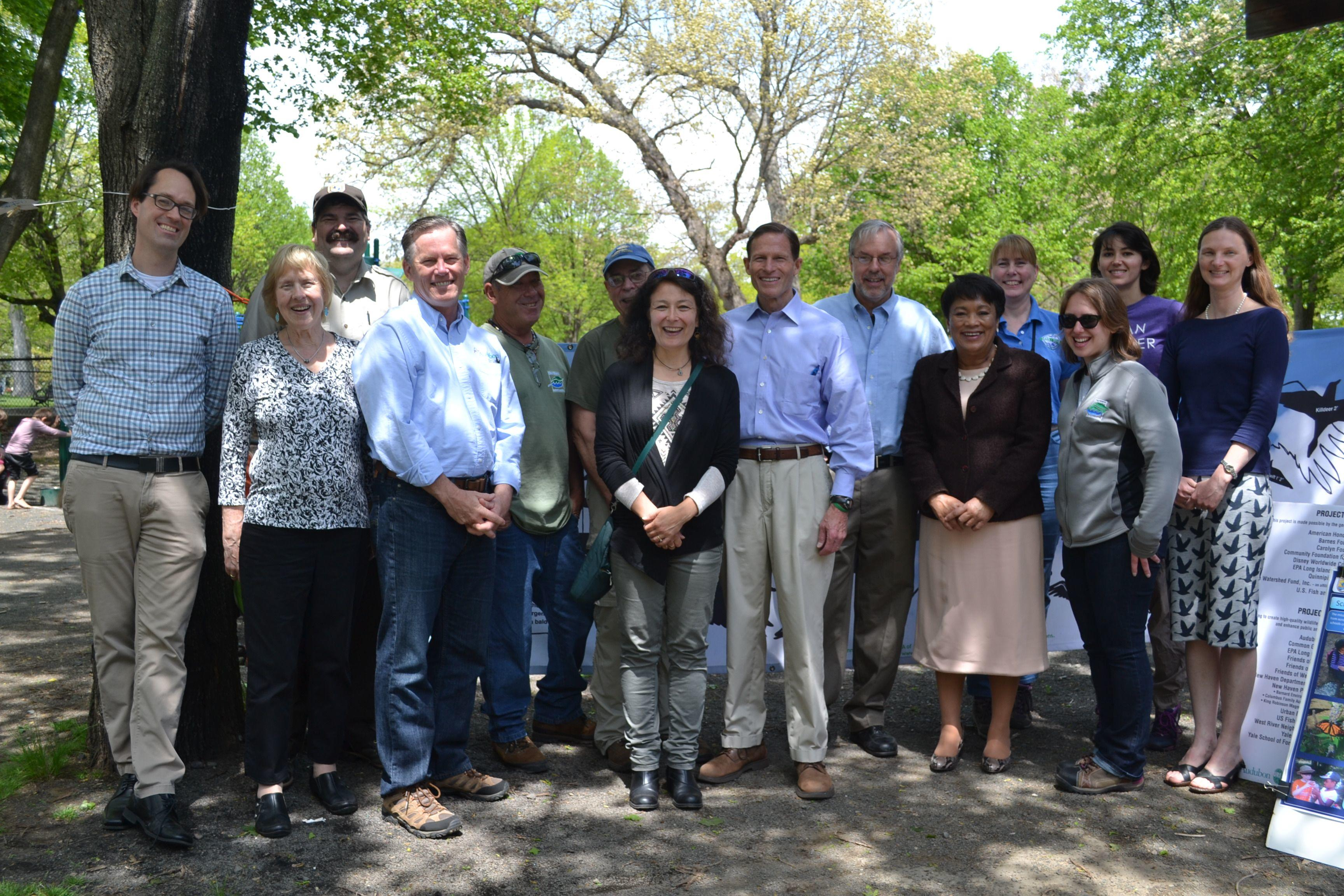 Urban Oases Partners at New Haven Urban Bird Treaty City Designation